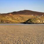 Across Uig Sands to Boranais