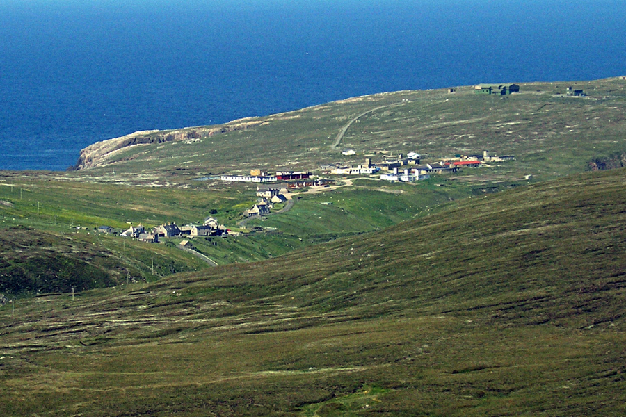 Aird Uig and the Camp from Forsnaval (in 2007)