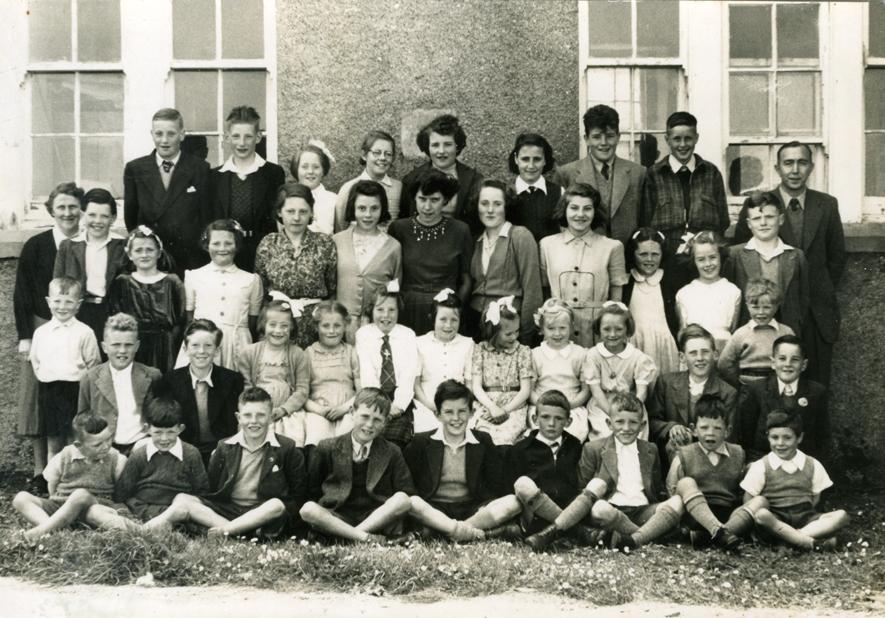 Valtos School 1954
