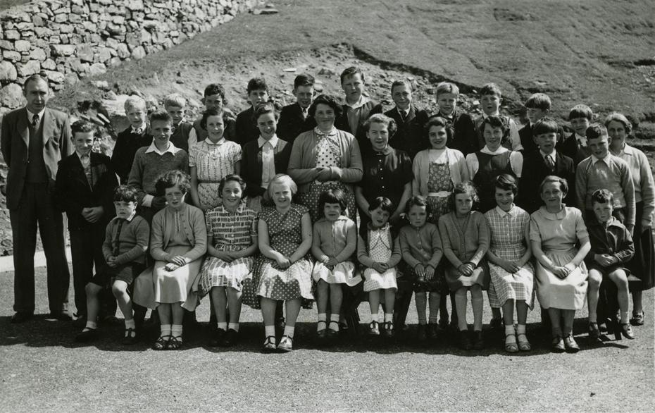 Valtos School 1958
