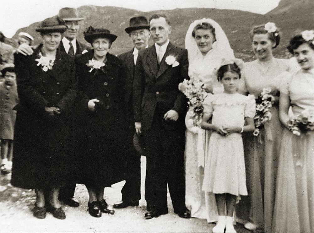 Annie Macdonald and Donald Macdonald, 1952
