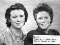 Annie Morrison and Peggy Buchanan