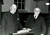 Rev Macfarlane and John Maciver
